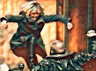 Atomic Blonde - Kick Ass by GuardianMajor