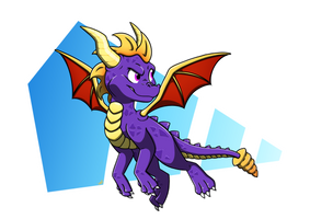 Spyro is back!! by FrekkieMonster