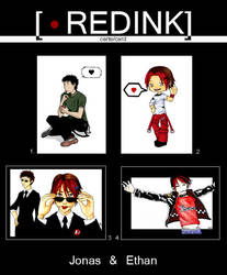 RedInk's cards - Ethan and Jo by studio-redink
