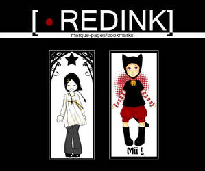 RedInk's bookmarks 2 by studio-redink