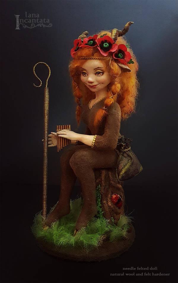 Daughter of Pan by LanaIncantata