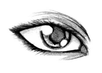 sketch - 4:Eye by Tsubaki-art