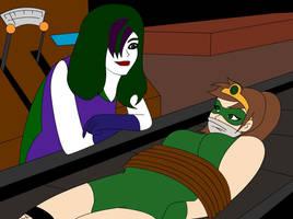 Princess Emerald vs Miss J by jokerismyname