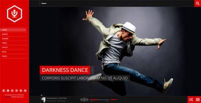 La-Band Music WordpPress Theme by cmsthemes
