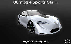 Toyota FT-HS ad by furiousfelinefuries