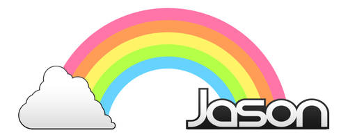 Cloud Rainbow Name by furiousfelinefuries