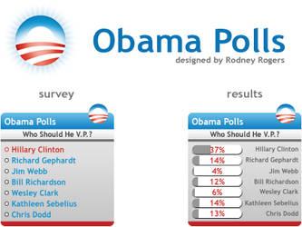 Obama Polls - idea by furiousfelinefuries