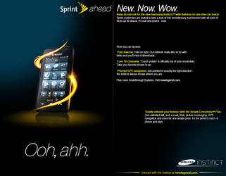 Sprint Ad, Revisited by furiousfelinefuries