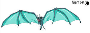 Godzilla Animated: Giant Bat by Blabyloo229