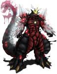 Kaiju Wars: Spacegodzilla by Blabyloo229
