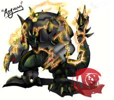 Kaijju Wars: Anguirus by Blabyloo229