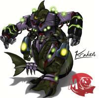 Kaiju Wars: Kraken by Blabyloo229