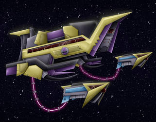 Commission: Aeon Starfighter by Blabyloo229