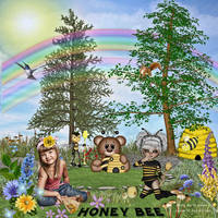 Honey-Bee by AudrajScraps