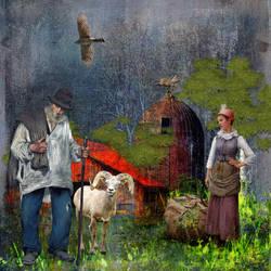 The Ol' Shepherd by AudrajScraps