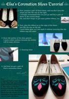 Elsa's Coronation Shoes Tutorial by pisces219320