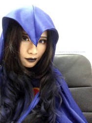 Raven makeup test 1 by pisces219320