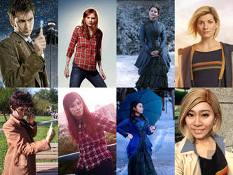 Doctor Who cosplays by pisces219320