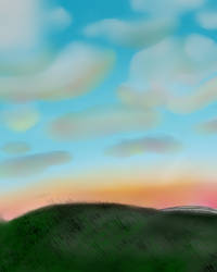 New Day With Clouds by NinLuvs-SHM