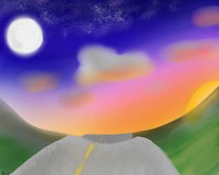 Moon And Sun by NinLuvs-SHM