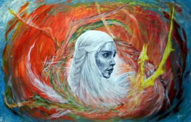 Daenerys Targaryen by mrkore
