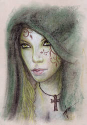 Blackstar woman by mrkore