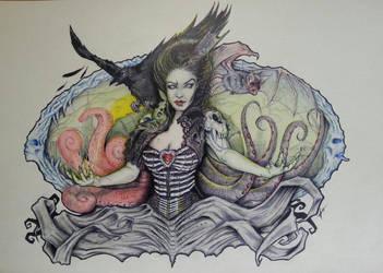 Zombie Queen by mrkore