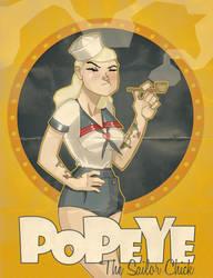 Popeye the Sailor Chick by paulorocker