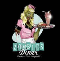 Zombie Waitress by paulorocker