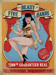 The Beast with Five Hands by paulorocker