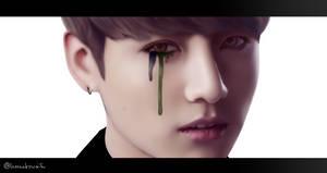 Jk - Blood Sweat and Tears by LeonieZeichnet