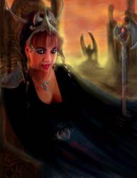 Dragon Queen Commission by panaceanplague99