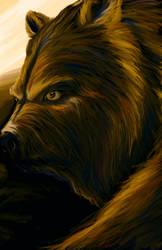 The Golden Bear by panaceanplague99
