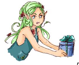 Santa's Elf! by Hilups