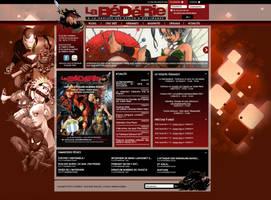 Design pour site de librairie by Cri-Studio