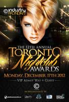 Toronto Nightclub Awards Poster by rjartwork