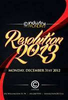Resolution 2013 New Years Flyer by rjartwork