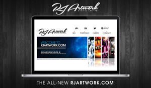 RJArtwork.com redesign by rjartwork
