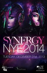 Synergy NYE2014 Flyer by rjartwork