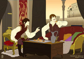 Commision: victor and Joseph by Lelia