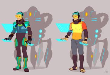 Technician and Bodyguard by Lelia
