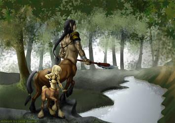 Centaurs by Lelia