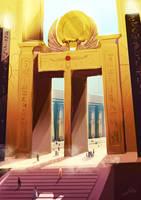 Sun Temple 02 by Lelia