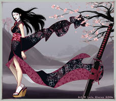 Warrior Spirit - color by Lelia