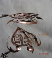 Copper Tribal Sea Turtle by joharasaluki