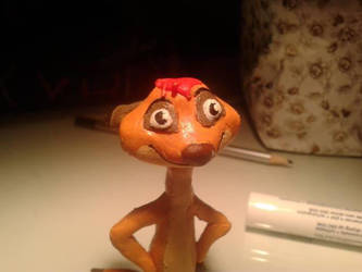 Timon made with modeling clay by kittycatty-x