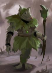 Leaf warrior by gordo258