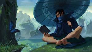 Serene Rain by gordo258