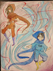 The Mage and Rogue by turano-chan