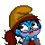 Pervy Bekah Smurf Icon by Kiss-the-Iconist